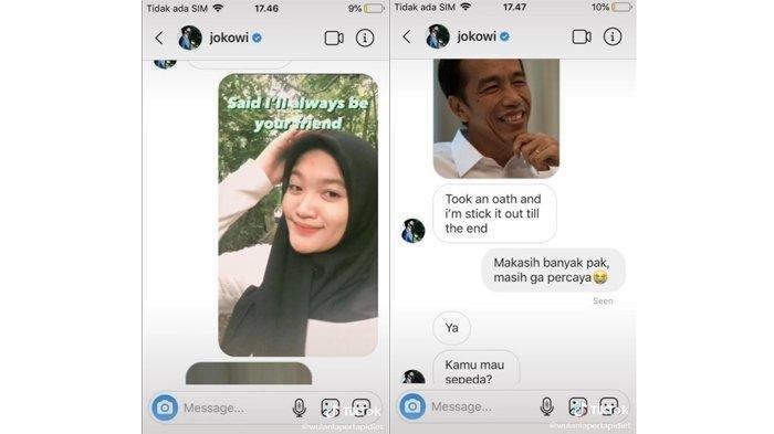 Ditonton 2,9 Juta Kali, Gadis TikTok dan Akun Jokowi 'Duet' Lagu Umbrella VIRAL: Rahasia Terbongkar
