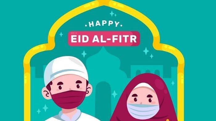 Kumpulan Gambar Ucapan Selamat Idul Fitri 1442 H, Bisa Dikirimkan ke Teman dan Keluarga di WhatsApp
