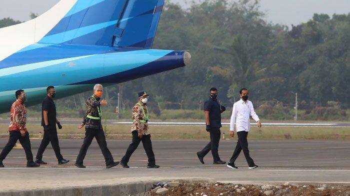 Gubernur Ganjar Pranowo Bangga Kehadiran Bandara Jenderal Soedirman, ini Kata Presiden Jokowi