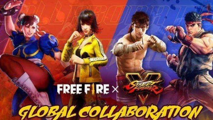 Kolaborasi Apik Free Fire X Street Fighter V Suguhkan Karakter Baru Bernama Ryu dan Chun-Li