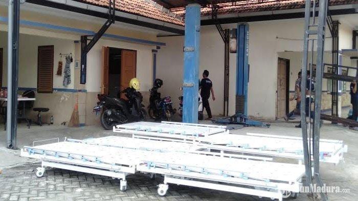 Gedung BLK Sampang Dijaga Ketat Petugas, AdaRemaja dan Bayi BerstatusODP yang Diisolasi di Sana