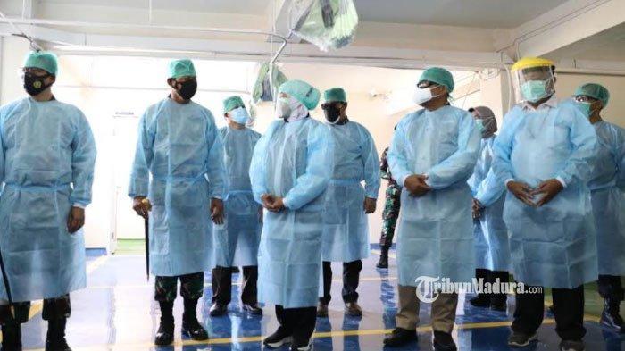 Tampung 200 Pasien, Gedung Parkir RSUD Dr Soetomo Dialihfungsikan Jadi Ruang HCU dan ICU Covid-19