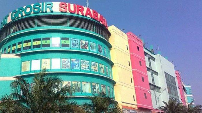Pusat Grosir Surabaya (PGS) Dibuka Kembali dengan Protokol Kesehatan Antisipasi Covid-19
