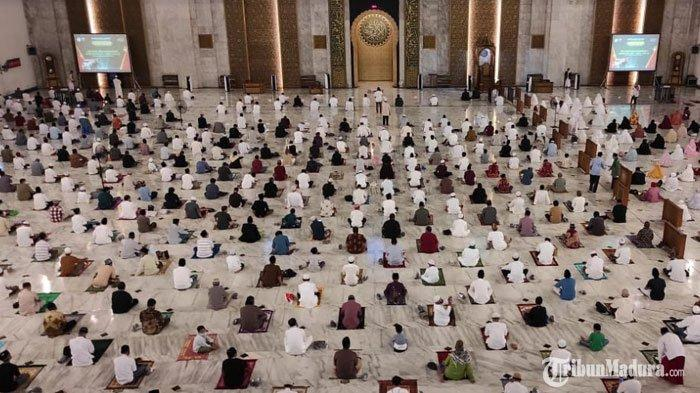 Masyarakat Lamongan Bisa Gelar Salat Tarawih di Masjid saat Ramadan 2021, Ada Batasan Jumlah Jemaah