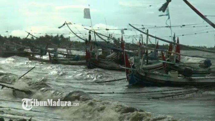 Kondisi Cuaca Ekstrim, Bikin Nelayan Terpaksa Tak Melaut, Gelombang dan Angin Kencang Jadi Sebab