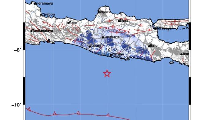 Gempa Bumi di Pacitan Berkekuatan 4.8 Magnitudo, Warga Berhamburan Keluar Gedung