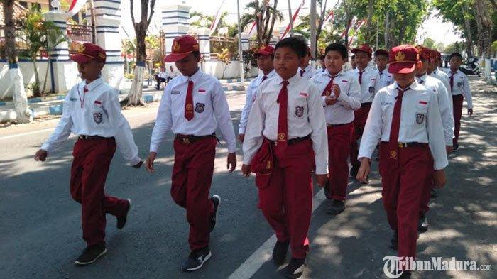 Rute Lomba Gerak Jalan di Sampang Madura Lebih Pendek dari Tahun Lalu, Begini Pertimbangan Pemkab