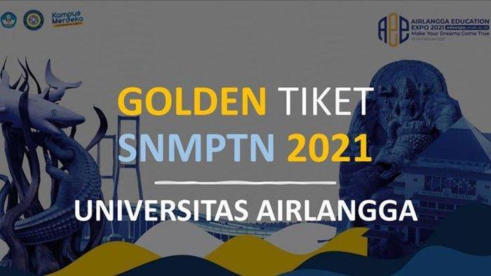 Pengumuman Golden Ticket Unair SNMPTN 2021, 71 Pendaftar Dinyatakan Lolos Seleksi Administrasi