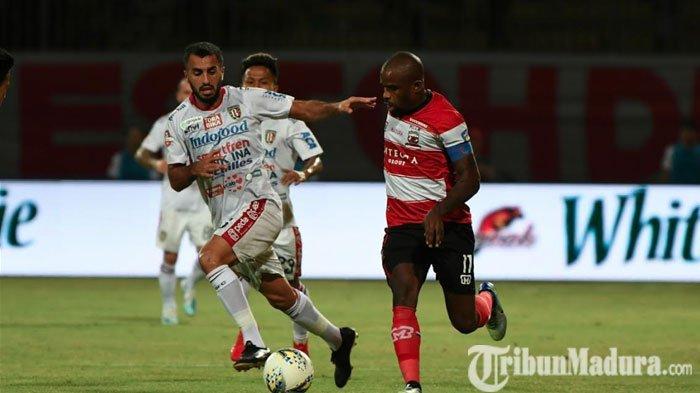 Madura United Bawa 18 PemainAway ke KandangBorneo FC, Pastikan Greg Nwokolo Tak Masuk Rombongan