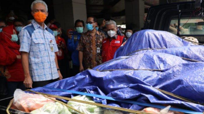 Bantu Korban Gempa di Jatim, Gubernur Ganjar Pranowo Terjunkan 10 Relawan dan Kirim Bantuan Logistik