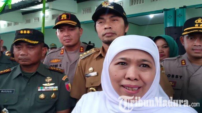 Imbauan Gubernur Khofifah Soal Orang Indonesia Idap Virus Corona: Jangan Panik, Ini Upaya Pencegahan