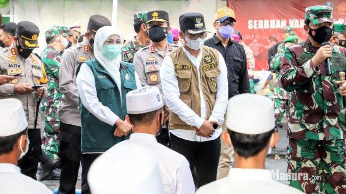 Mulai Besok, TNI-Polri Turun ke Bangkalan untuk Bantu PPKM Mikro & Lacak Kontak Erat Kasus Covid-19