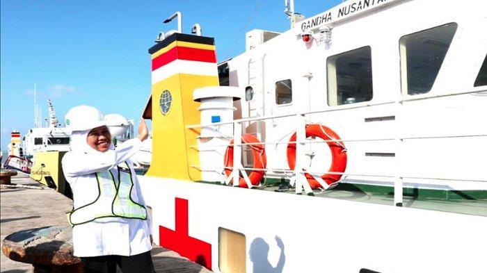 Kapal Rumah Sakit Terapung Layani Warga Kepulauan Sumenep, Begini Tanggapan Khofifah Menkes & Menhub