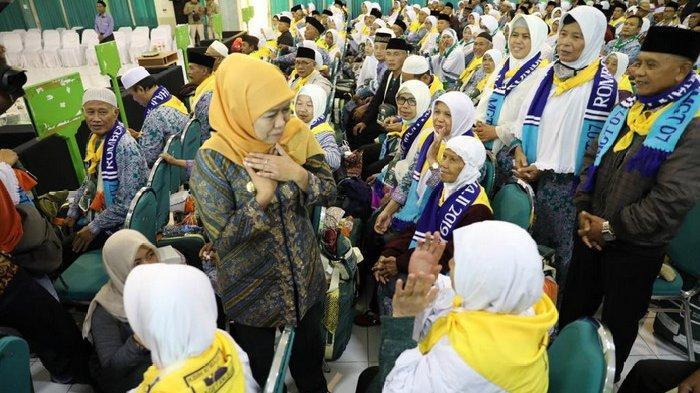 CJH Kloter 1 Embarkasi Surabaya Masuk Asrama Haji, Zonasi Baru Urai Kendala Bahasa di Tanah Suci
