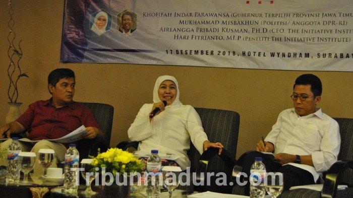 Jokowi-Makruf Amin Kalah di Madura, Ini yang Akan Dilakukan Khofifah Untuk Balikkan Suara