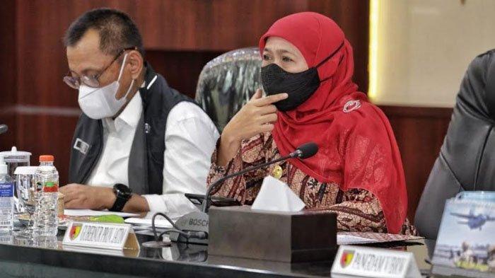 Gubernur Khofifah Ingatkan Tingkat Keterisian Bed RS Covid-19 di Kabupaten Madiun di Atas 80 Persen