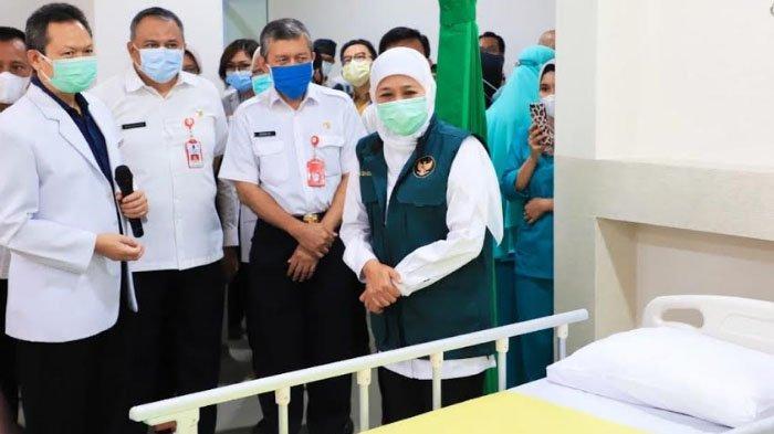 Gubernur Jatim Khofifah Resmikan Unit Baru Layanan Hemodialisa RS Saiful Anwar di Malang
