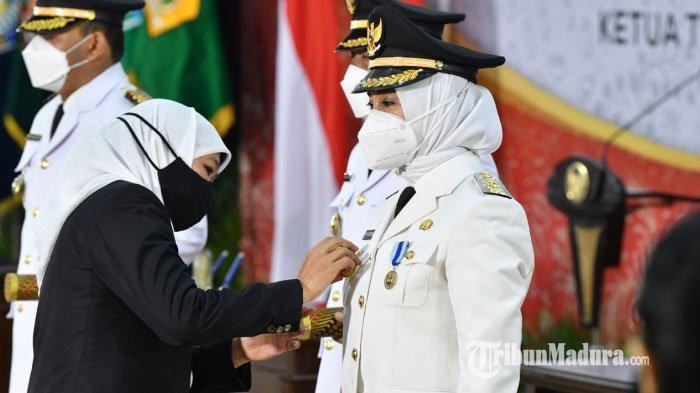 BREAKING NEWS - 6 Kepala Daerah di Jawa Timur Resmi Dilantik di Sesi Pertama, Berikut Daftarnya