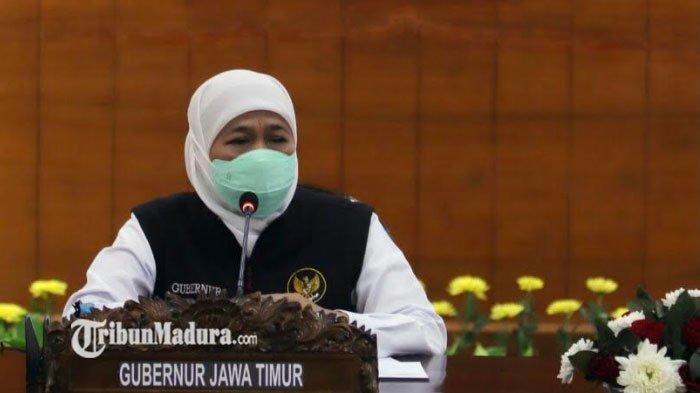 Gubernur Khofifah Angkat Bicara Soal Klastes PTM, Tegaskan Ada Miskonsepsi Data Kemendikbudristek