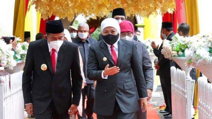 Gubernur Khofifah Minta Bupati Sumenep Tingkatkan Pertumbuhan Ekonomi dan Turunkan Angka Kemiskinan