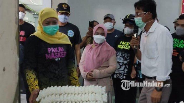 Gubernur Khofifah Jamin Stok dan Harga Sembako Aman di Kabupaten Lamongan Jelang Ramadan 2021