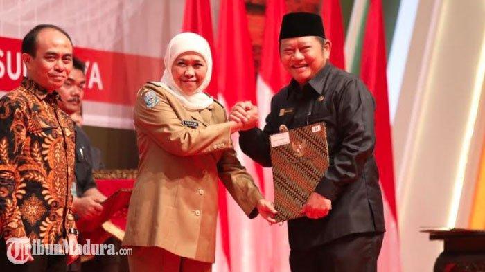 Wali Kota Risma dan Bupati Jember Faida Tak Hadir di DIPA TA 2020, Gubernur Khofifah Angkat Bicara