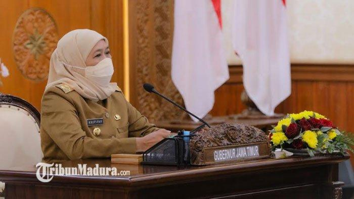 Percepatan Vaksinasi di Jawa Timur Kini Mencapai 18 Juta Dosis, ini Penjelasan Gubernur Khofifah
