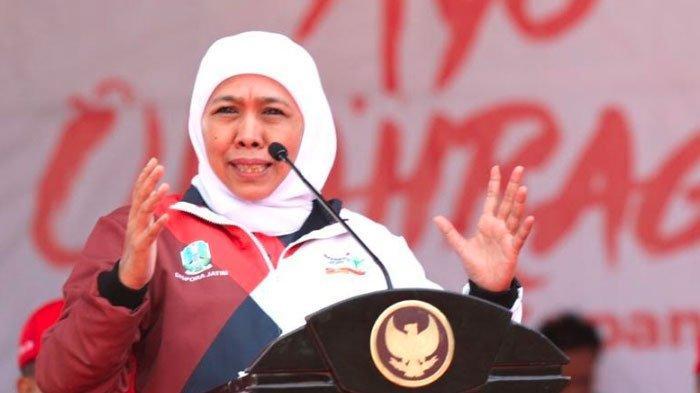 Gubernur Khofifah MintaPelatih yang Tuduh Atlet Senam SA Tak Perawan Agar Minta Maaf ke Keluarga