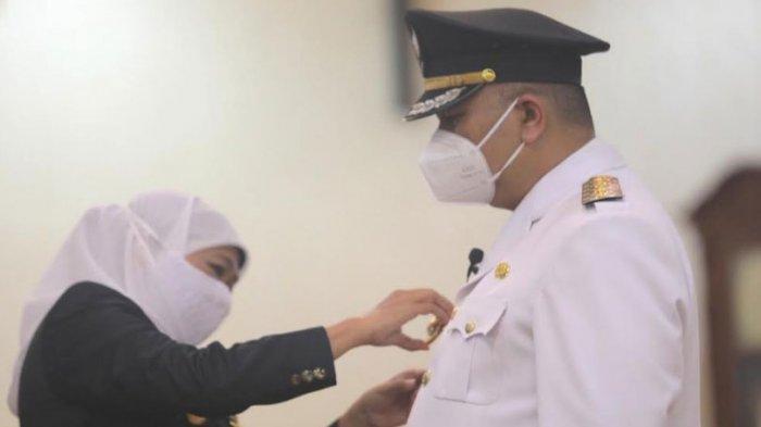 Dilantik Wali Kota, Whisnu Sakti Ingin Surabaya Masuk Zona Hijau Covid-19