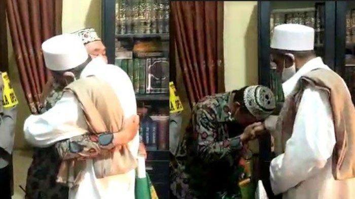 Habib Umar Abdullah Assegaf Beri Hadiah Umrah Untuk Petugas Satpol PP Usai Damai, ini Kronologinya