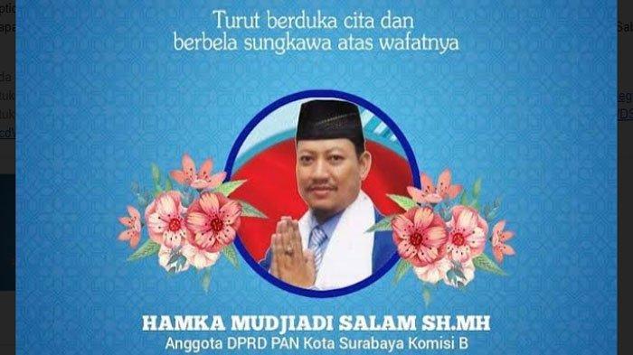BREAKING NEWS - DPRD Surabaya Berduka, Hamka Mujiadi dan Putra Diah Katarina Meninggal Dunia