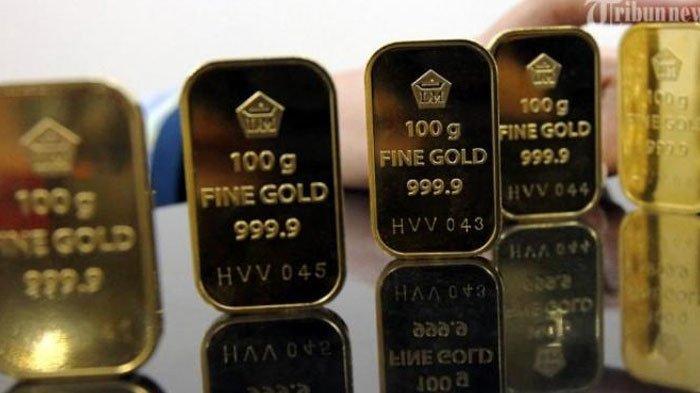 Daftar Harga Emas Antam 22 Agustus 2020, Terpantau Turun Rp 4.000, per Gramnya Capai Rp 1.027.000
