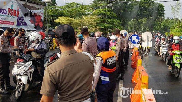 Aturan Baru PSBB di Sidoarjo, Jam Malam Semakin Tegas, Jika Melanggar Sanksi Jadi Relawan Menunggu
