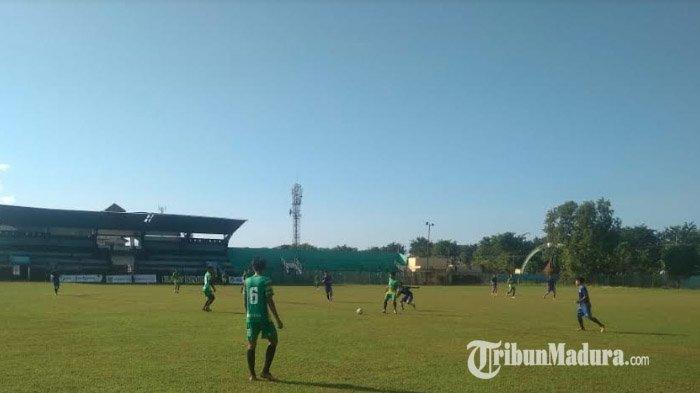 26 Pemain Ikuti Seleksi Tertutup Madura FC di Stadion Ahmad Yani Sumenep