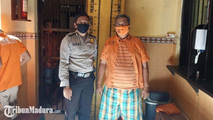 MantanCaleg di Sumenep Ditangkap Polisi di Gubuk saat Sendirian, Terancam Dipenjara selama 20 Tahun