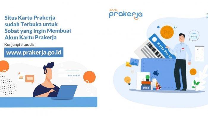 HORE! Akun Prakerja Sudah Bisa Dibuat, Yuk Login www.prakerja.go.id untuk Daftar Kartu Prakerja 2021