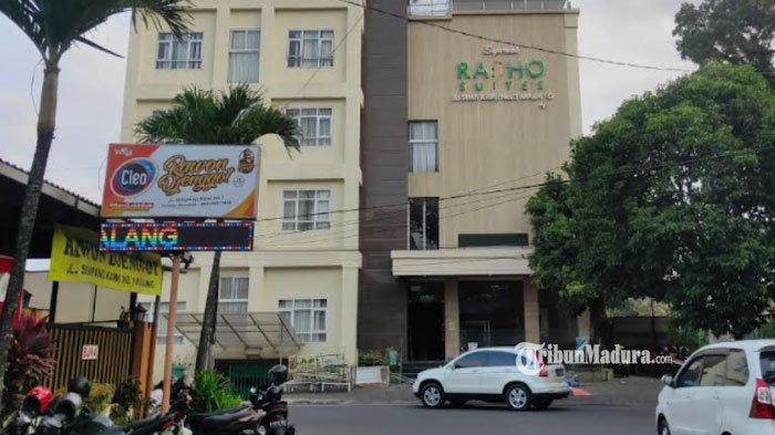 Hotel Radho Suites, Kota Malang, Jumat (23/7).