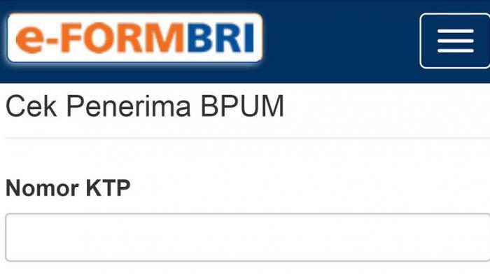 Login eform.bri.co.id/bpum, Berikut Cara Cek Nama Penerima Bantuan UMKM Rp 1,2 Juta Cukup Pakai KTP