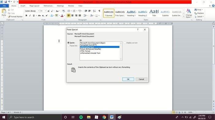 Teks Berantakan Usai Copy Paste? Simak Cara Merapikan Teks Hasil Paste di Microsoft Word