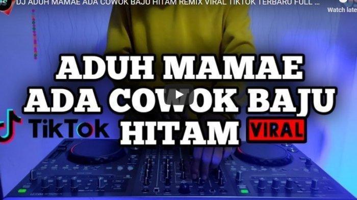 Ilustrasi download lagu TikTok - Download MP3 DJ Aduh Mamae versi DJ Desa, TikTok Remix Viral, Lengkap Lirik 'Ada Cowok Baju Hitam'