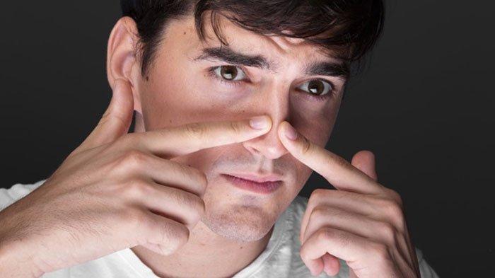Begini Cara Mengatasi Hidung Tersumbat, Tiga Titik Pijatan Berikut, Simal Cara Memijatnya