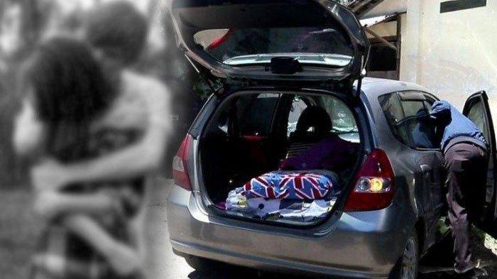 Aksi 'Mobil Goyang' Mobil Honda Jazz di Parkiran Mal Malah Kepergok Petugas, Langsung Tancap Gas