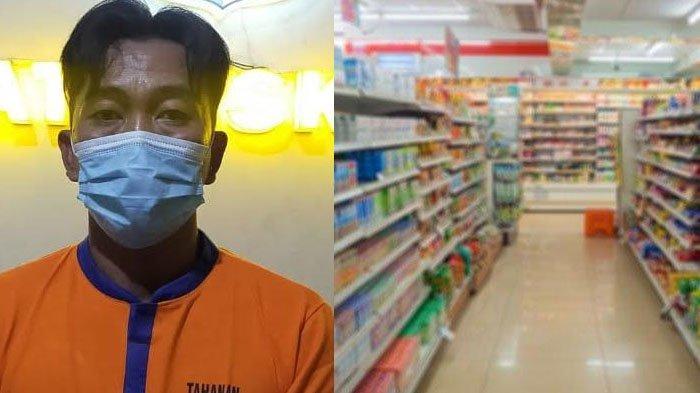 Hal Tak Terduga Pria saat Masuk Minimarket Dini Hari Kagetkan Pegawai, Dua Orang Terlihat Mengendap