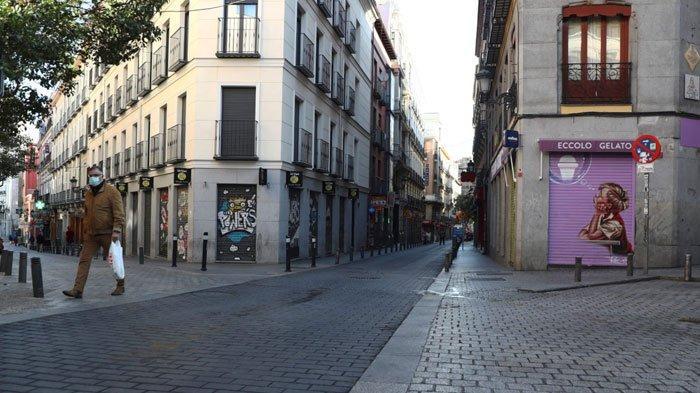 Ancaman Polisi Jika Ada Warga Spanyol Keluar Rumah setelah Lockdown, Penjara hingga Denda Rp 40 Juta