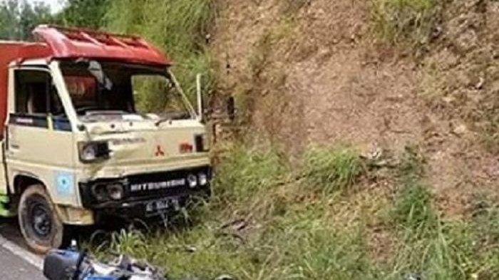 Motor di Lamongan Tersangkut Badan Truk, Berawal Saat Pengendara Mendahului, Korban Tewas di TKP