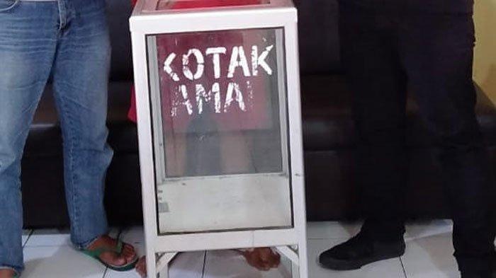 Diduga Terhimpit Kondisi Ekonomi Bikin Wanita ini Nekat Bobol Kotak Amal Masjid di Malang