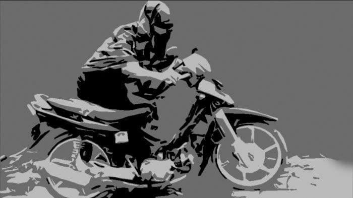 Kepergok Satroni Rumah Anggota Satlantas Polres Gresik, Pencuri ini Mudah Mencuri Honda Vario Polisi