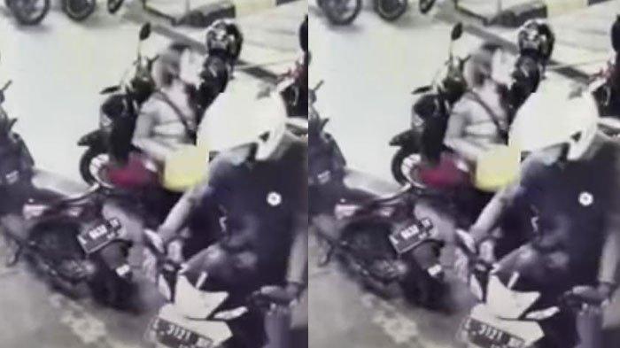 Meski Sudah Dikunci Stang Menghadap Kanan, Motor Honda Beat Raib Saat Diparkir Dekat Warung