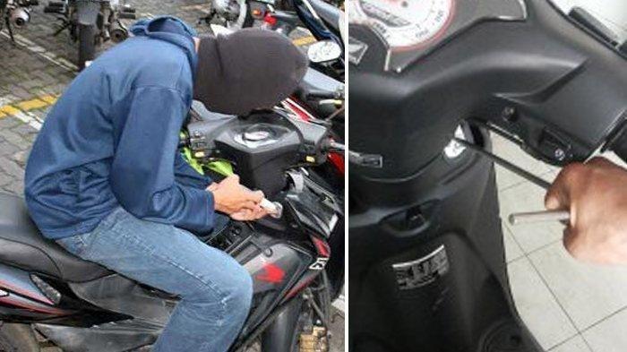 Ditinggal Beli Nasi Bebek, Motor Mio Warga Kenjeran Ini Dicuri, Korban Ungkap Pelakunya 2 Orang