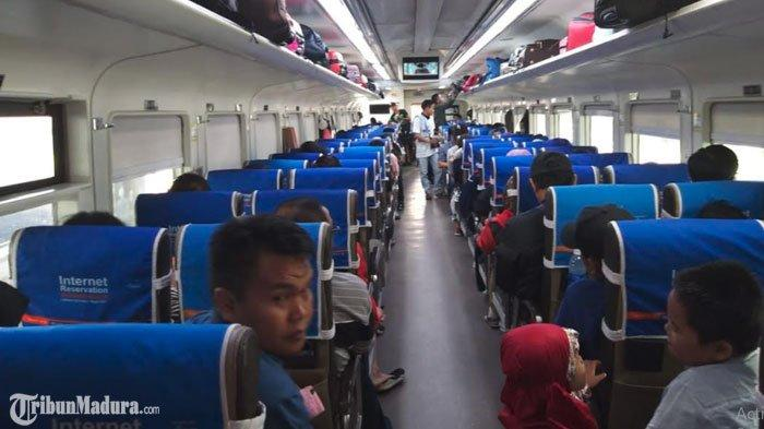 Arus Balik H+2 Lebaran 2019,PT KAI Daop 8 Surabaya Layani 41 Ribu Penumpang yang Berangkat